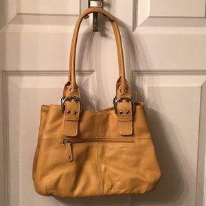 Tignanello Pebble Leather Purse with Wallet